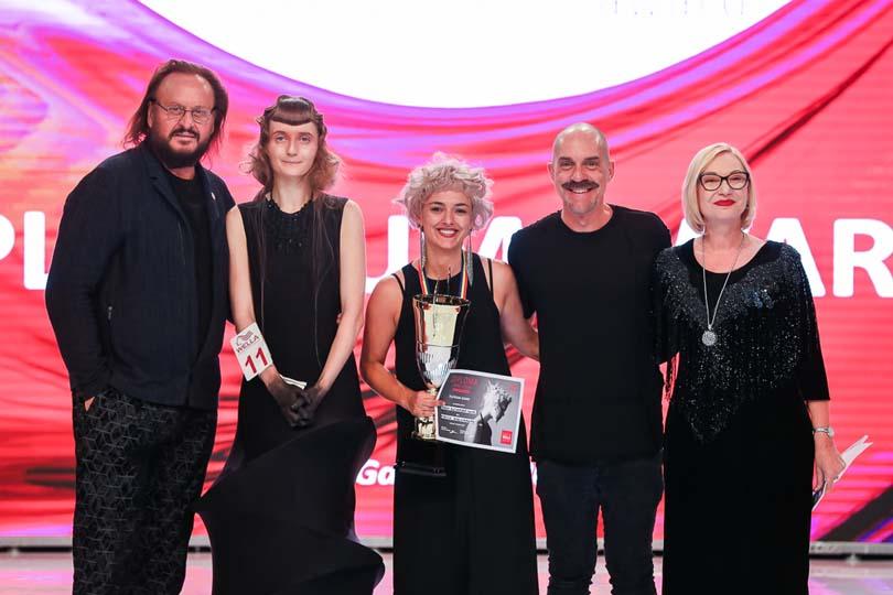 Un moment special pentru mine: Festivitatea de premiere la Concursul național de coafură alături de Alexis Ferrer, stylist si ambasador Wella International, creator al trendului Eco