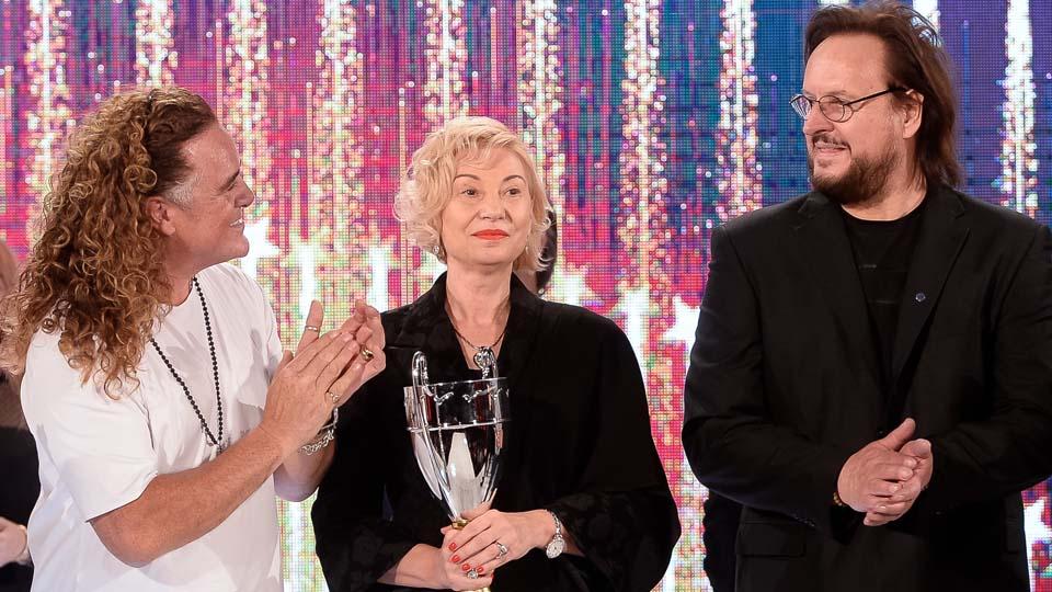 La Gala Wella, premiată de doi extraordinari prieteni, Patrick Cameron și Constantin Ilie