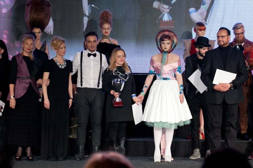 Festivitate de premiere la Gala Wella, câștigătoare Oana Motoi