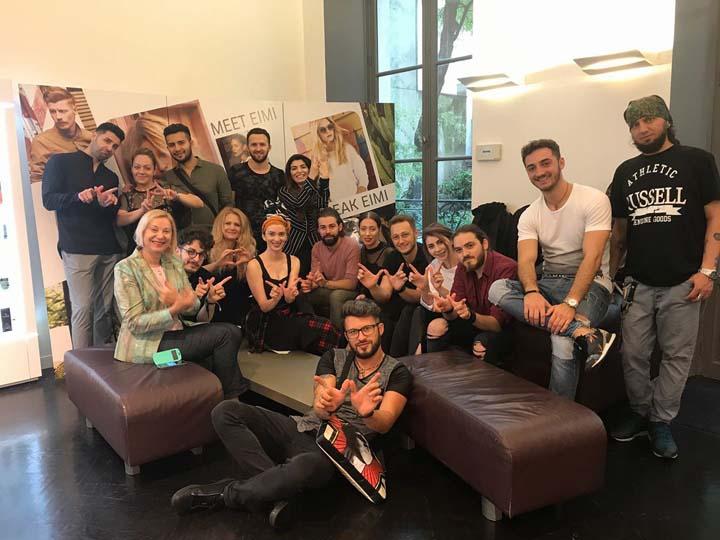 Seminar international la Wella Studio Paris, alături de echipa Wella Vision